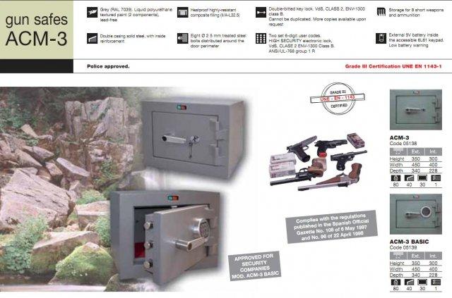 Gun Safes  Security Grade 3 Malta | Safes Malta | J  Grima